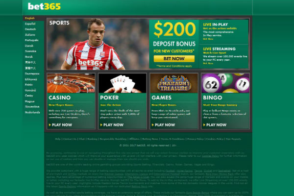 Website Judi Bola Bet365